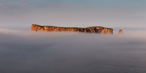 Rocher Percé, Canada.