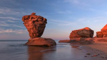 Tea Pot Rock, Île du Prince-Édouard / Prince-Edward Island, Canada