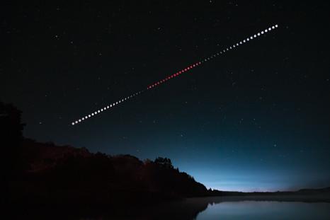 Éclipse lunaire 27/09/2015 / Lunar eclipse on 09/27/2015