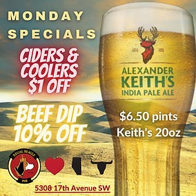 MONDAY KEITHS BEEF DIP CIDERS COOLERS.pn