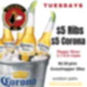 CORONA GRASSHOPPER PATIO DRINKS