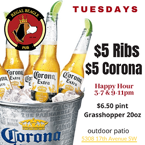 CORONA GRASSHOPPER PATIO DRINKS