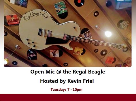 Open Mic Tuesday Regal Beagle Pub 17 Avenue SW Calgary