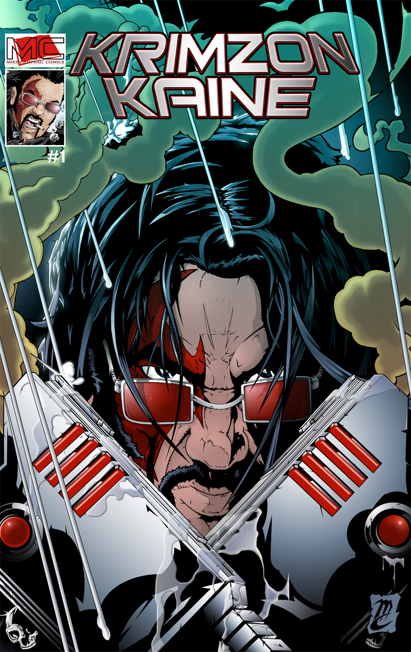 Krimzon Kaine #1 - Cover