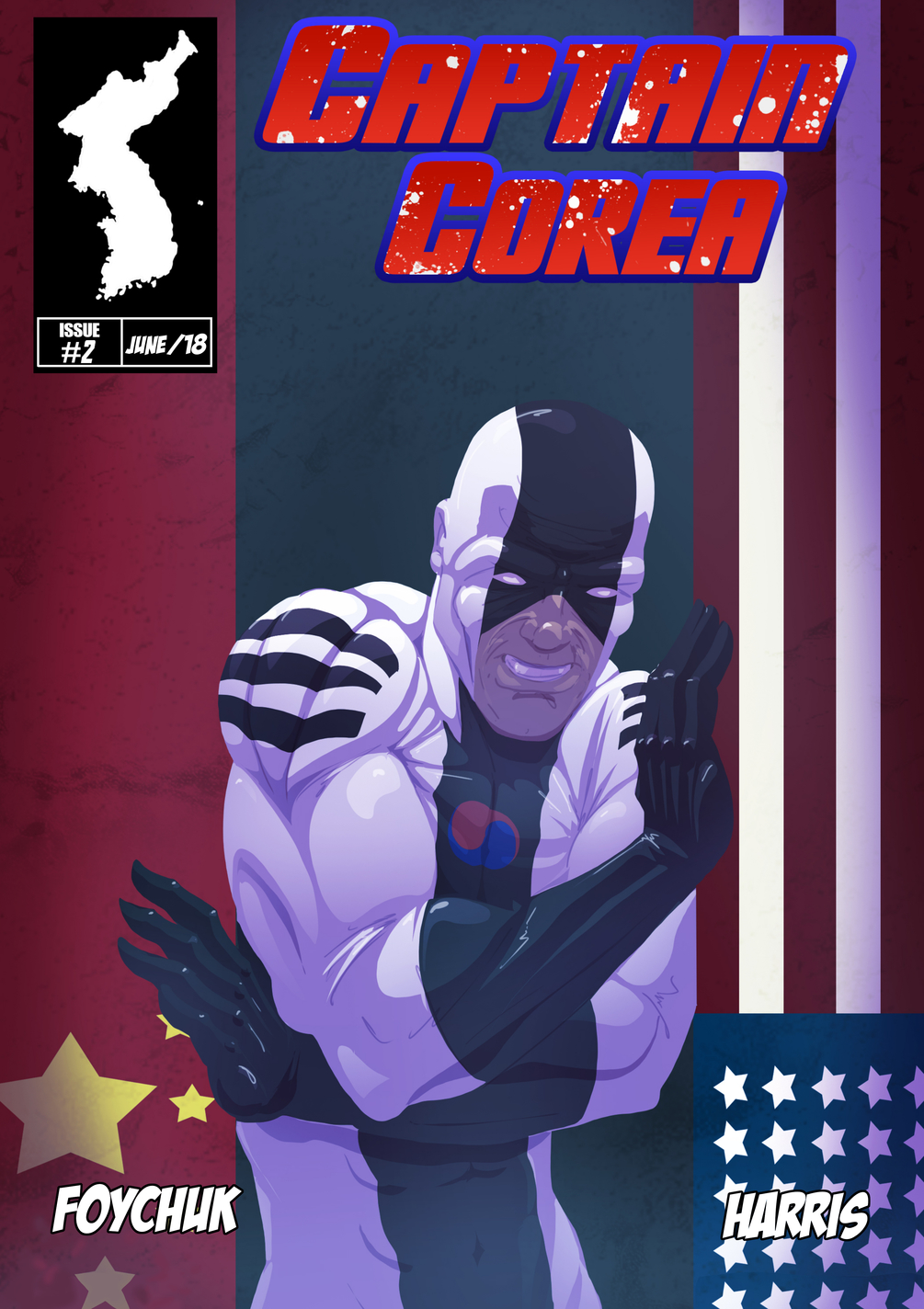 Captain Corea #2 - Cover