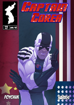 Captain Corea #2 - Cover