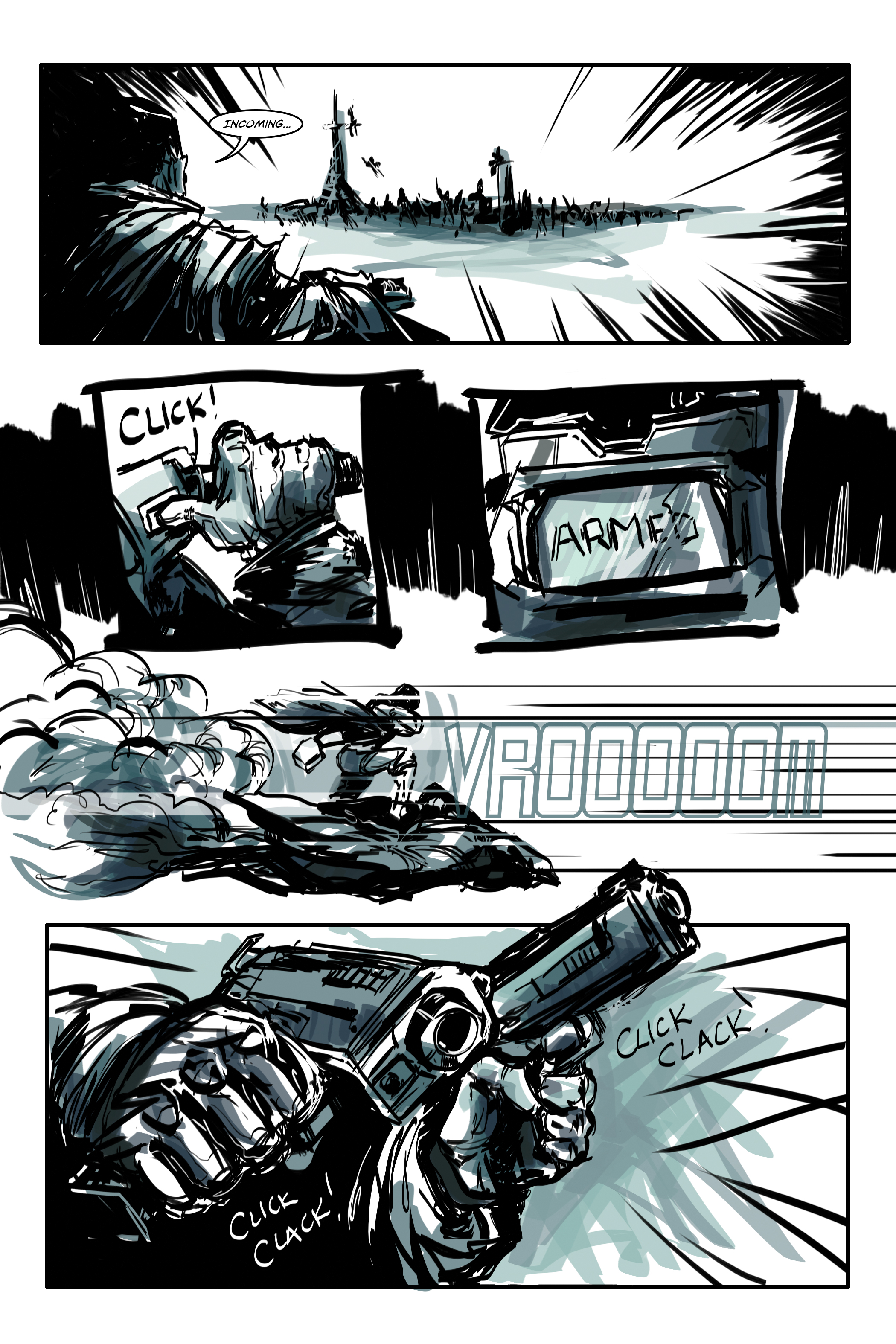 White Cell Inoculation #1 - Preview 2