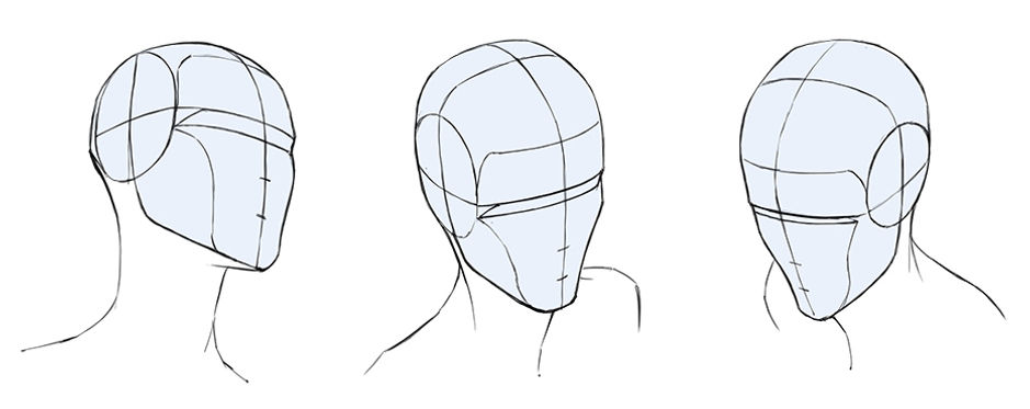 How To Draw The Head In Perspective