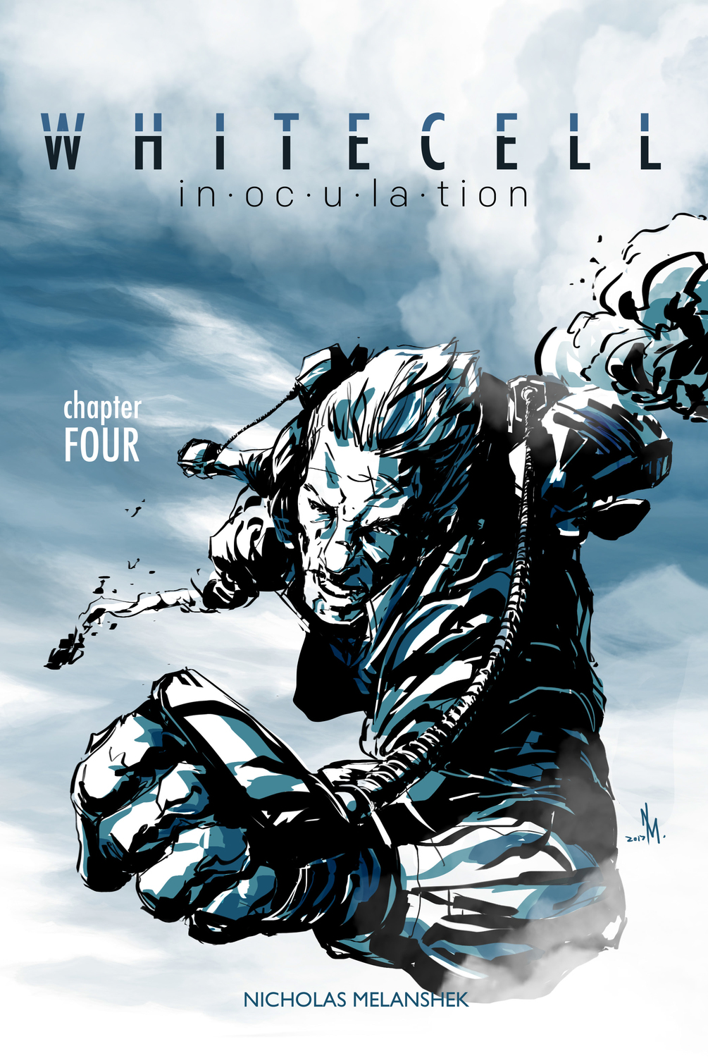 White Cell Inoculation #4 Cover