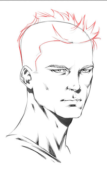 How to Draw Comics | How to Draw Head Portraits 1
