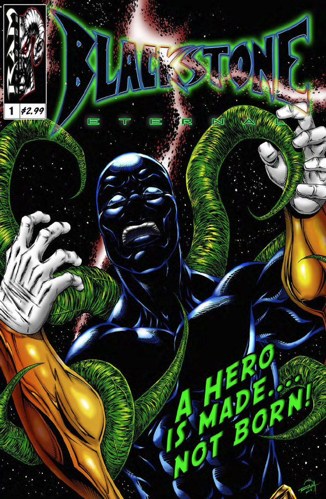 Blackstone Eternal #1 Cover