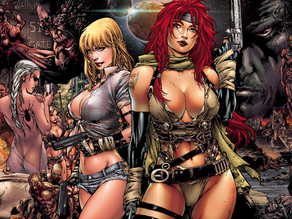 Nina & Ariel By Ed Benes - Now Live On IndieGoGo!
