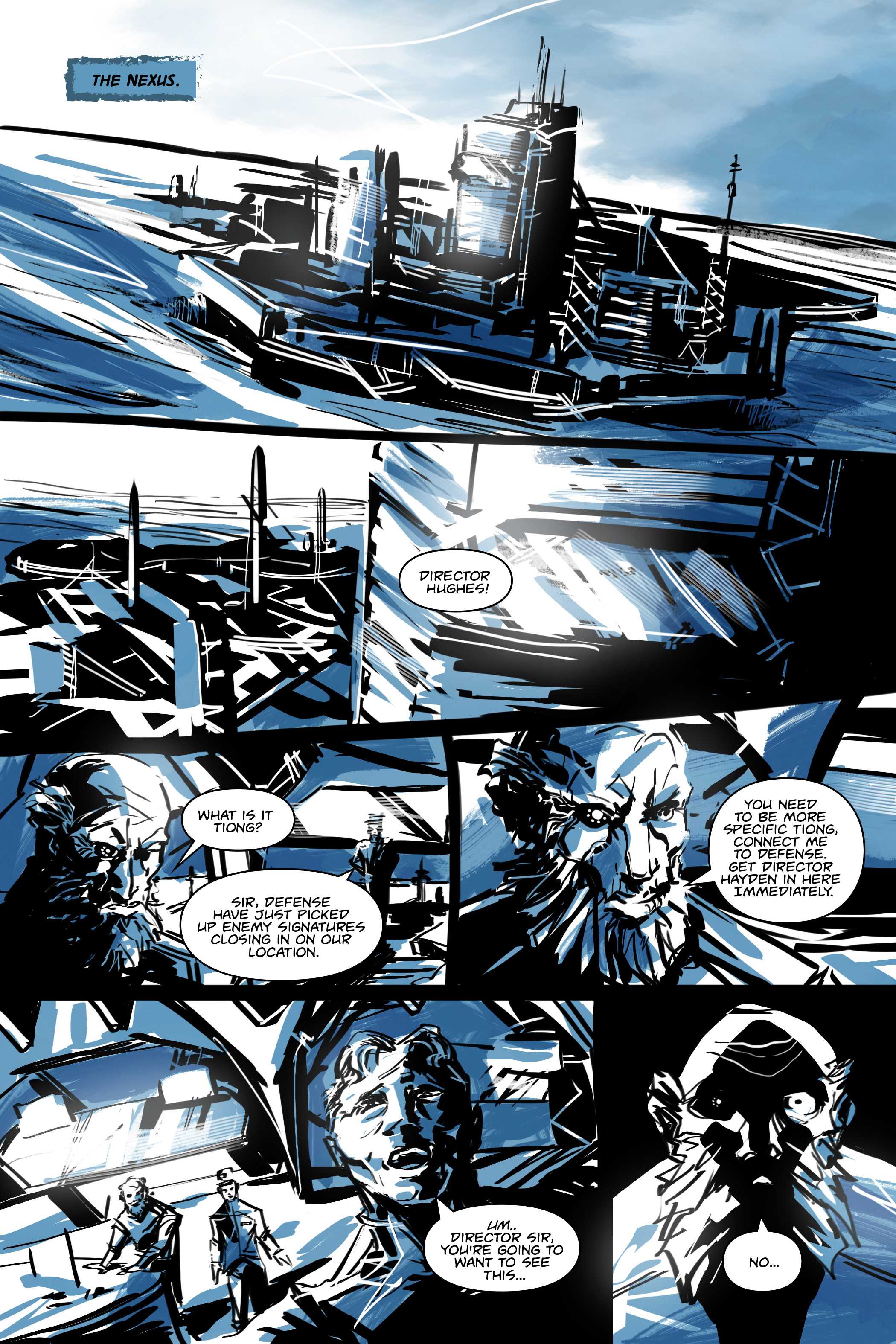 White Cell Inoculation #5 - Preview 3
