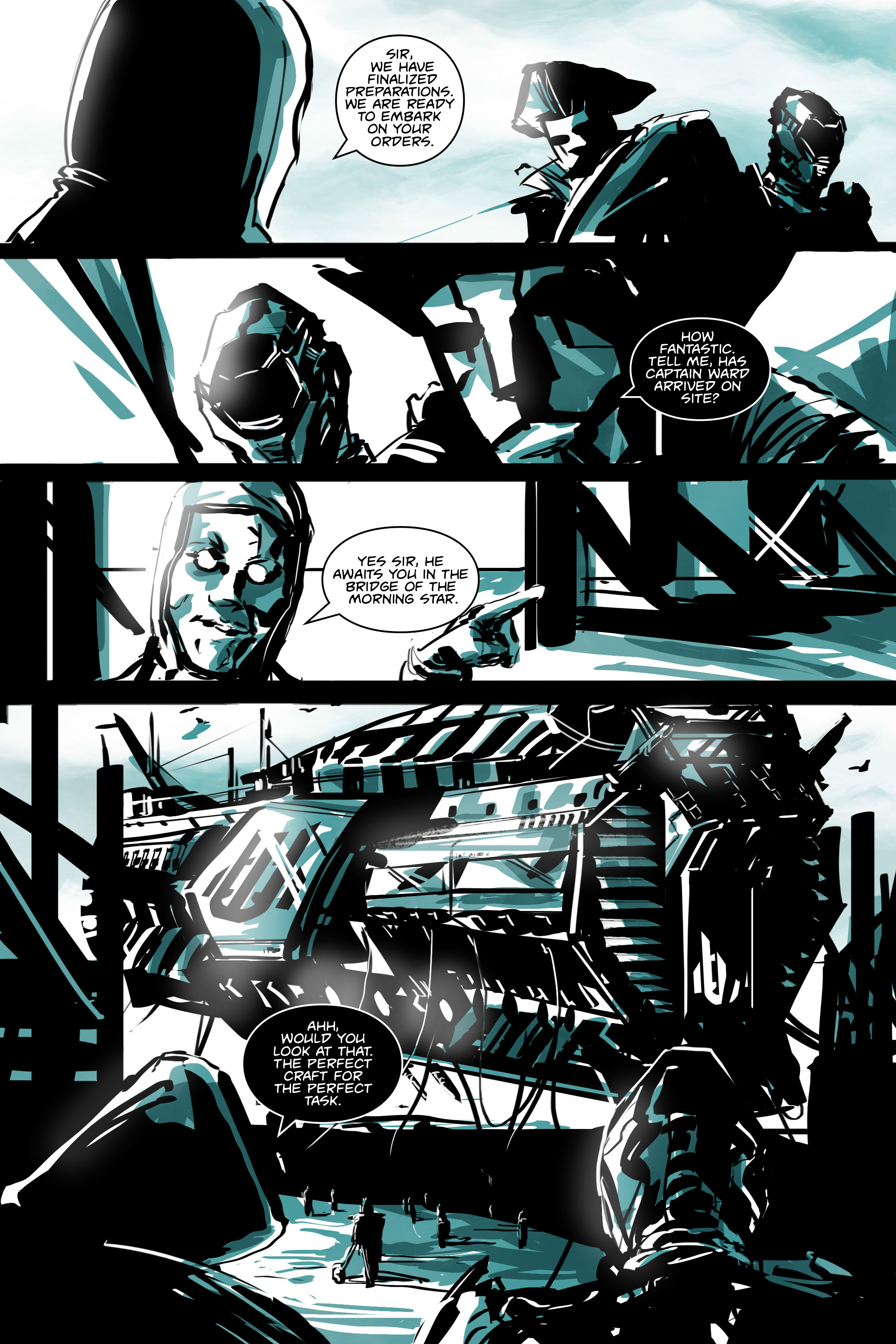 White Cell Inoculation #5 - Preview 1