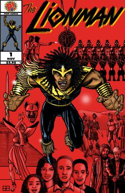 Lionman #1 - Cover