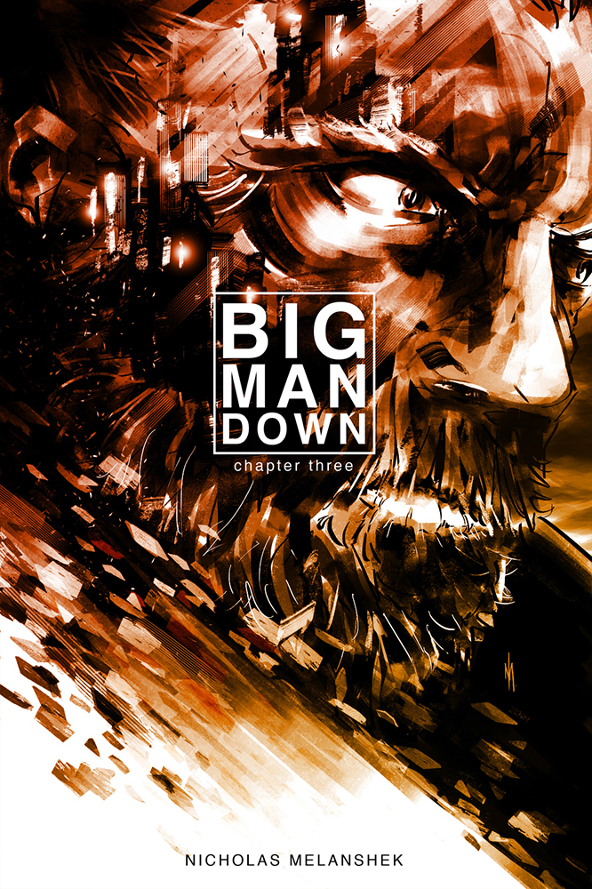 Big Man Down #3 - Cover