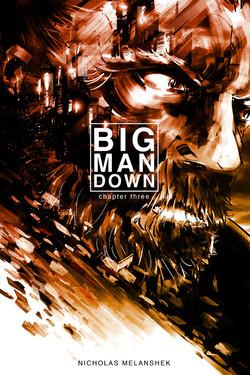 Big Man Down #3 - Cover