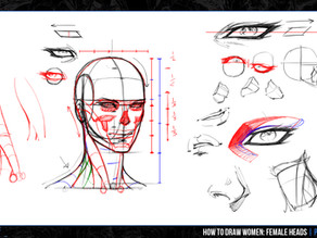 """Re-Working """"How To Draw Women: Female Heads"""""""