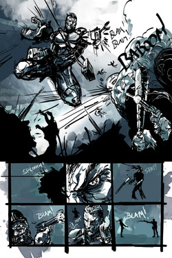 White Cell Inoculation #1 - Preview 3