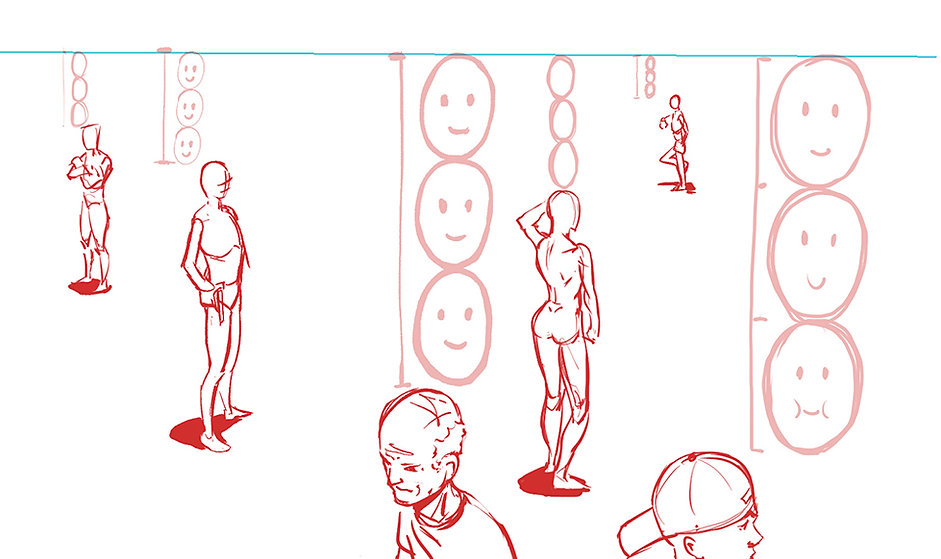 How To Draw Comics - Placing Figures In
