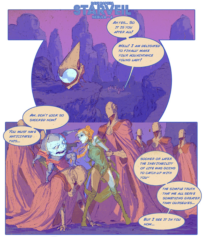 StarVeil #1 - Preview 3