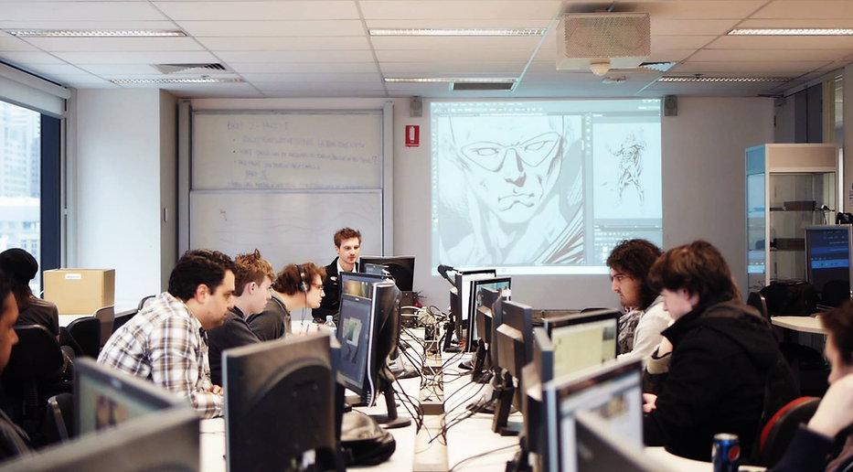 Comic Art Classroom