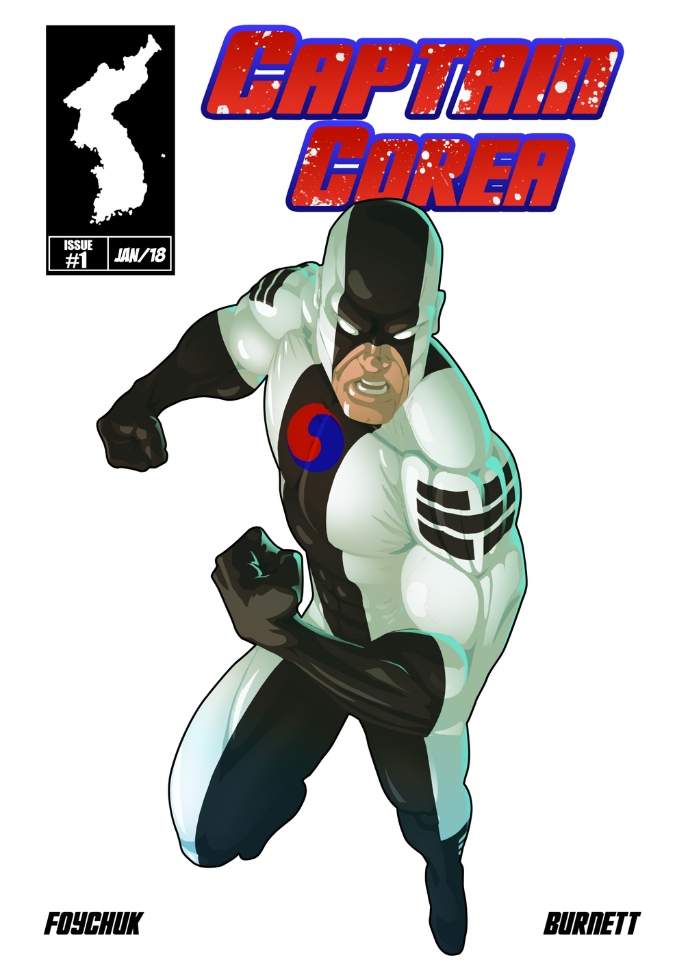 Captain Corea #1 - Cover