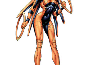 Presenting Zing From Comic Book Character Creator: Superheroines