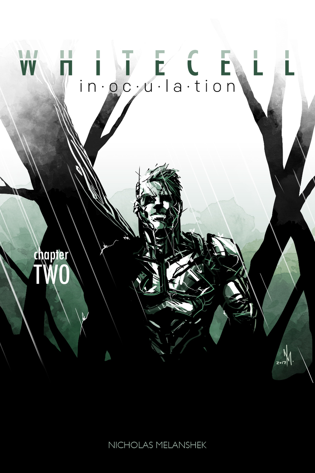 White Cell Inoculation #2 Cover