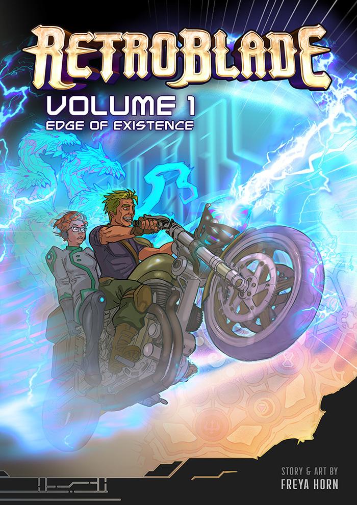 Retro Blade Vol. 1 - Cover