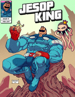 Jesop King #1 - Cover