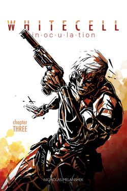 White Cell Inoculation #3 Cover