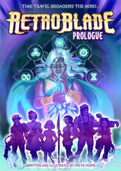Retro Blade Prologue - Cover