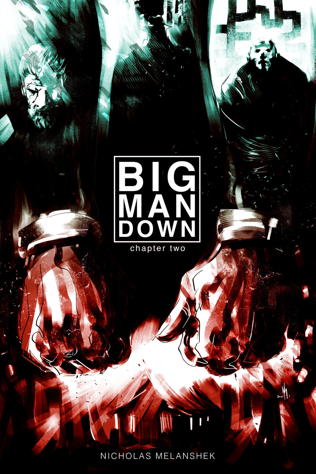 Big Man Down #2 - Cover