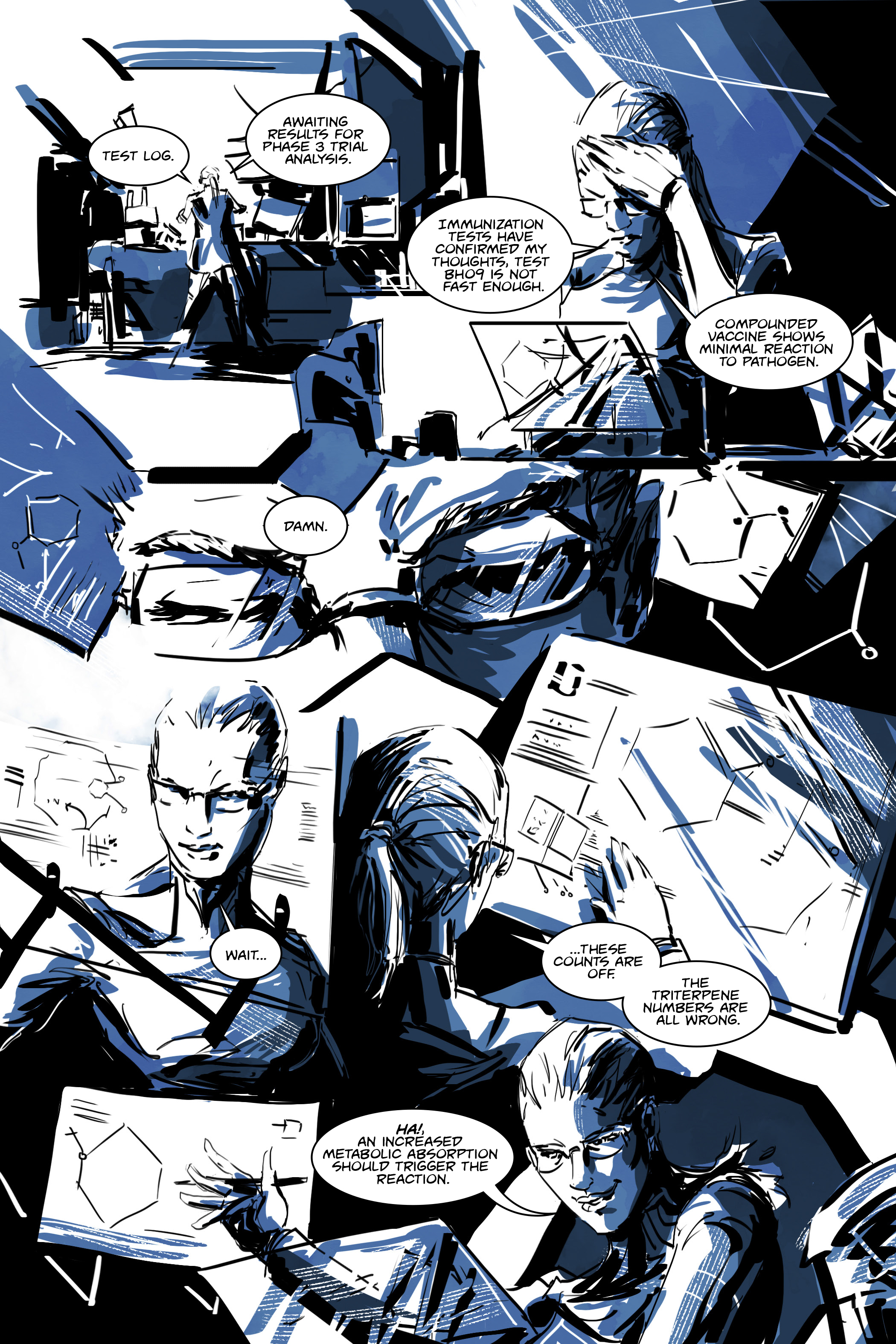 White Cell Inoculation #4 - Preview 1