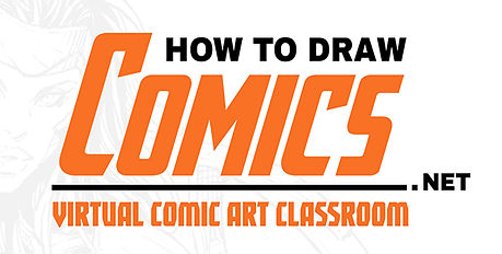 Superheroine Virtual Comic Art Classroom