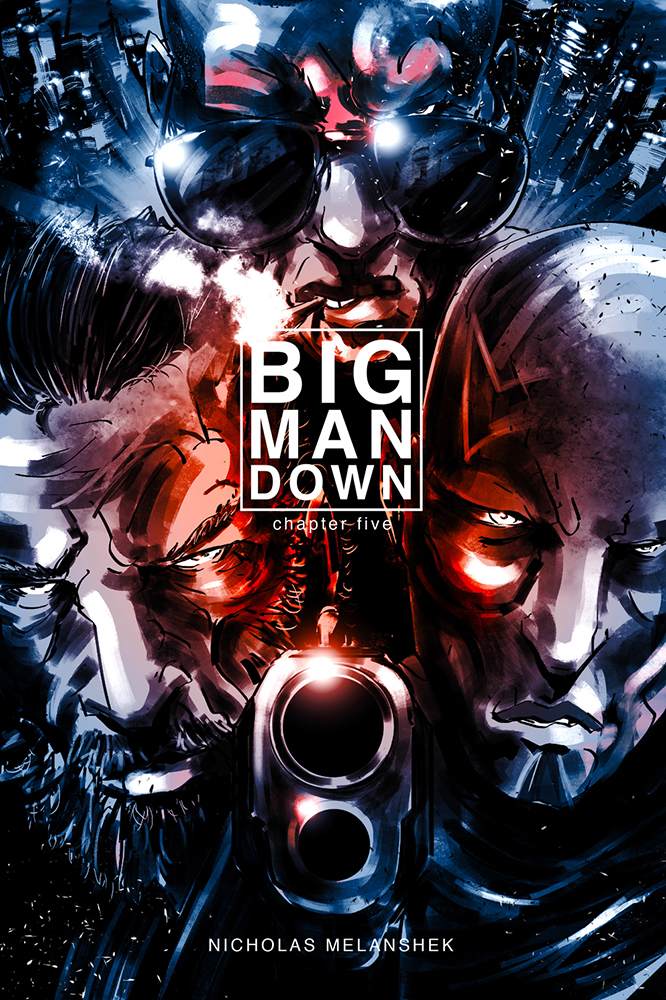 Big Man Down #5 - Cover