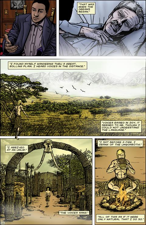 Lionman #1 - Preview 2