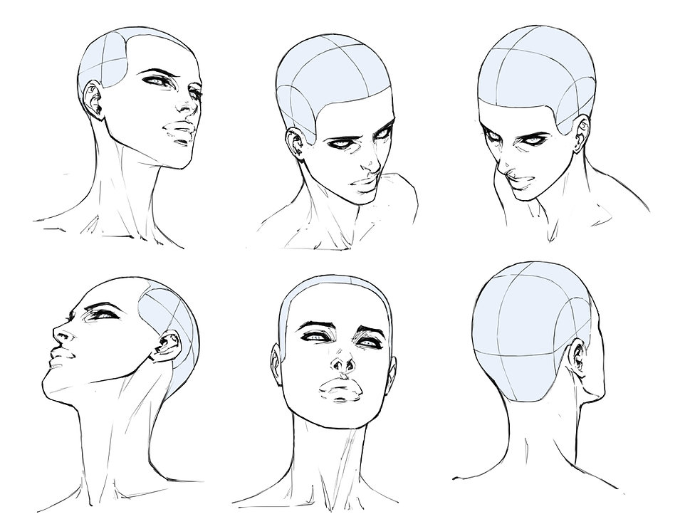 How to Draw Comics | How to Draw Hair