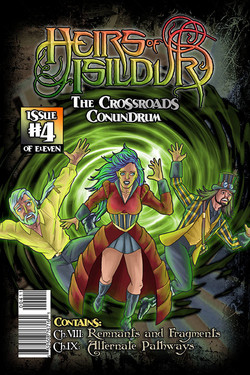 Heirs Of Isildur #4 - Cover