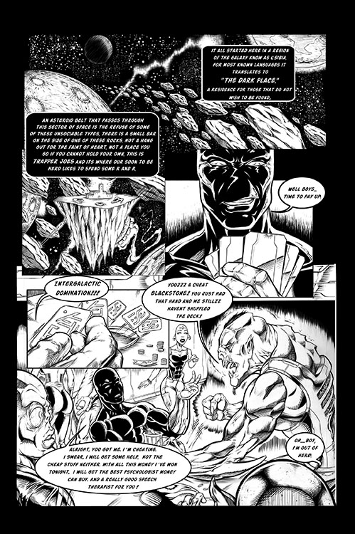 Blackstone Eternal #1 - Preview 1
