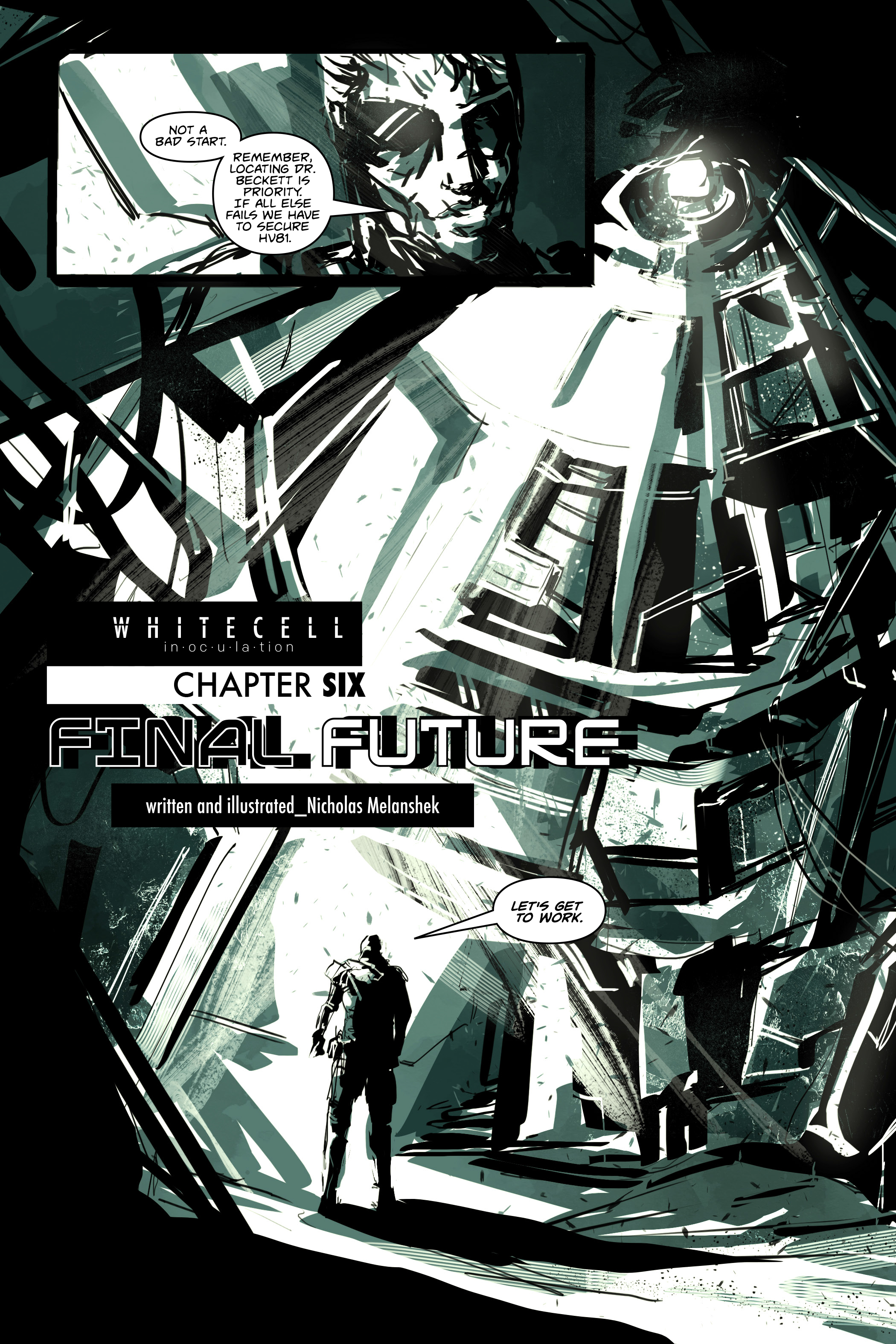 White Cell Inoculation #6 - Preview 1