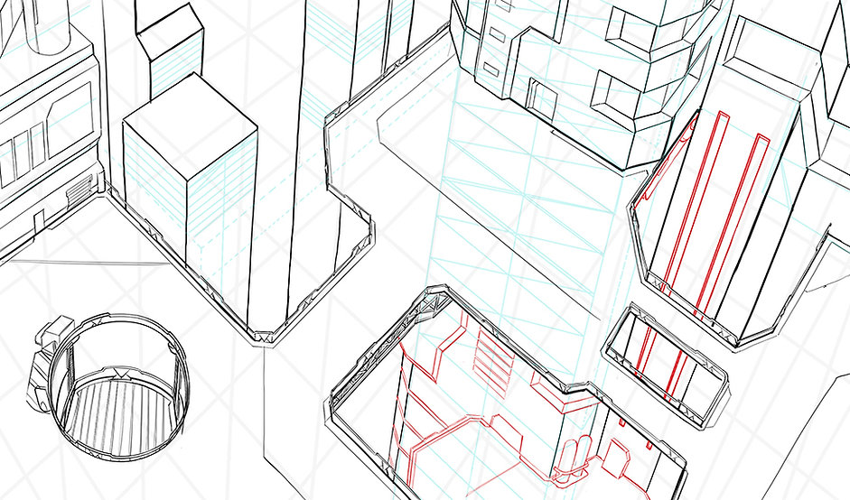 How To Draw Comics - 3 Point Perspective
