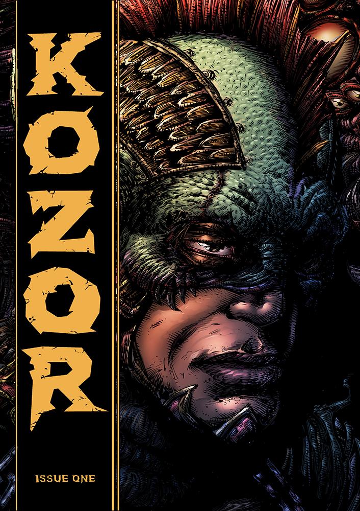 Kozor #1 - Cover