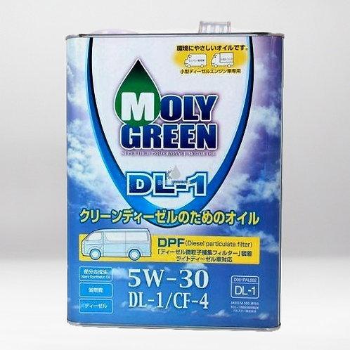Моторное масло MOLYGREEN DL-1 5W/30 4л (дизель)