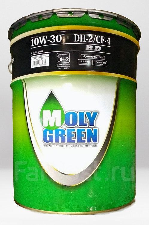 Моторное масло MOLYGREEN H-DUTY DH-2/GF-4 10W30 20л