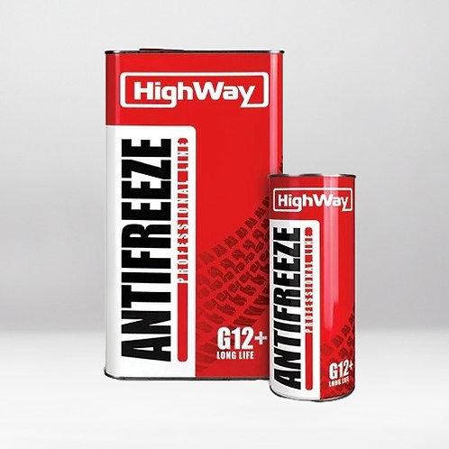 Антифриз HighWay ANTIFREEZE-40 LONG LIFE G12+ красный 5 кг