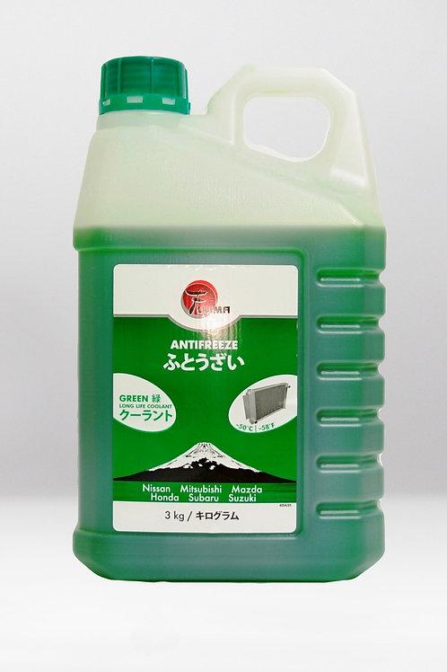 Антифриз -50 Fujima LongLife GREEN 3кг