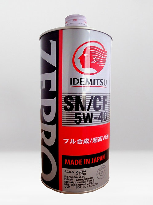 Моторное масло IDEMITSU ZEPRO EURO SPEC SN/CF 5W-40 1 л.
