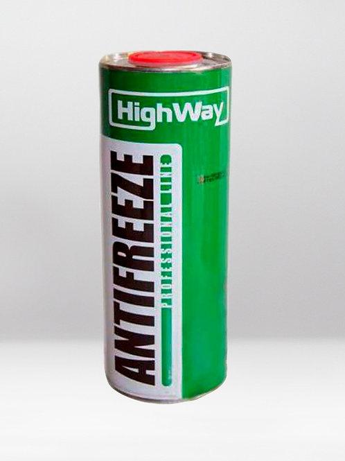 Антифриз HighWay ANTIFREEZE-40 LONG LIFE G11 зеленый 1L